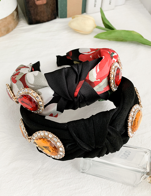 Fashion Printing Knotted Hair Band