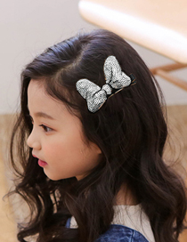 Lovely Red Bowknot Decorated Simple Hairpin (1pc)