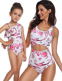 Fashion Children's Swimsuit Mermaid Siamese Parent-child Swimsuit