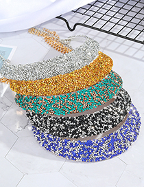 Fashion White Stardust Sequins Oval Earrings Necklace