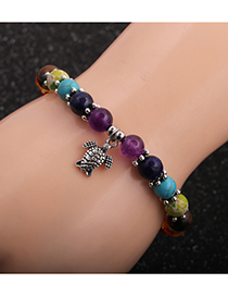 Fashion Tortoise Tortoise Tree Of Life Owl Yoga Chakra Bracelet
