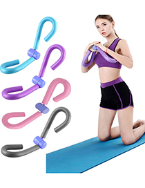 Fashion Gray Yoga Leg Training Leg Clamp
