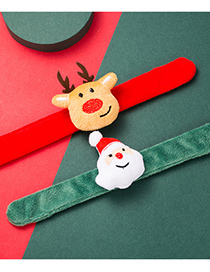 Fashion Bear Christmas Snowman Bear Pop Ring Bracelet