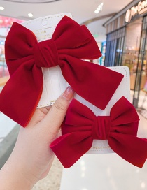 Fashion C Bowknot Hairpin-small Bowknot Fabric Alloy Children Hairpin