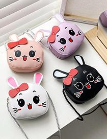 Fashion Pink Round Cartoon 3 Year Old 5 Year Old Strawberry Children Messenger Bag