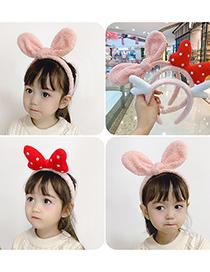 Fashion Brown Bear Childrens Rabbit Ears Bow Antler Headband
