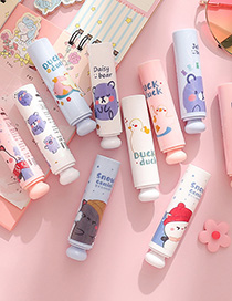 Fashion Cute Bear Series 4 Moisturizing And Moisturizing Lip Balm