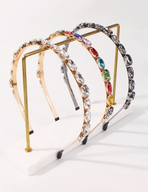 Fashion Color Alloy Rhinestone Headband