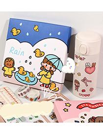 Fashion Foundation Cake Girl Character Decoration Hand Account Sticker