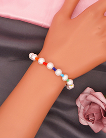 Fashion Section 1 Rice Bead Beaded Pearl Bracelet