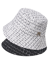 Fashion White Shade M Standard Fisherman Hat