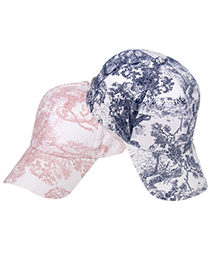 Fashion Pink Forest Animal Sunscreen Baseball Cap