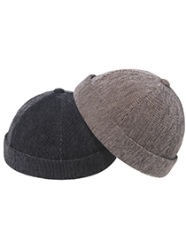 Fashion Gray Guapi Dome Landlord Hat