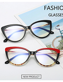 Fashion C10 Powder/anti-blue Light Metal Spring Legs Anti-blue Light With Myopia Tr95 Flat Lens