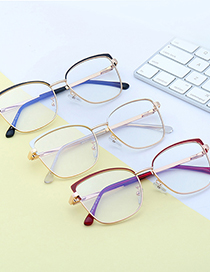 Fashion C13 Brown/anti-blue Light Anti-blue Light Can Be Equipped With Near Metal Flat Lens