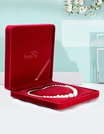 Fashion Royal Blue (ellipse) Pearl Flannel Storage Box