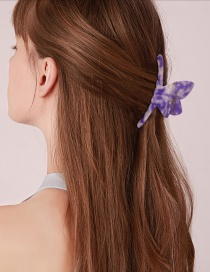 Fashion Whale Tail Acetic Hairpin-mermaid White Butterfly Mermaid Color Clamp