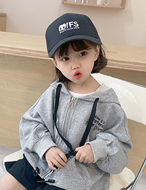 Fashion Beige Childrens Embroidery Baseball Cap