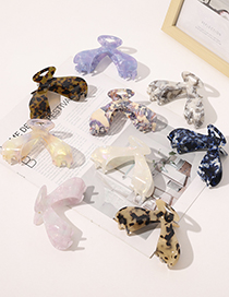 Fashion Whale Tail Acetic Hairpin-mermaid White Acetate Plate Pan Hair Whale Tail Catch Clip