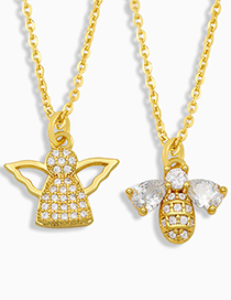 Fashion Angel Angel Bee Necklace