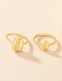 Fashion Couple Ring Alloy Geometric Ring