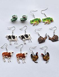 Fashion Cauliflower Simulation Animal Cauliflower Earrings