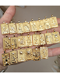 Fashion The World Solomon Tarot Necklace