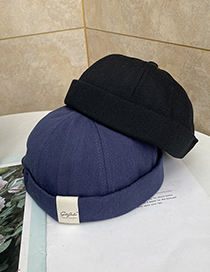 Fashion Black Labeled Landlord Hat