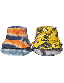Fashion D Shade Tie-dye Fisherman Hat