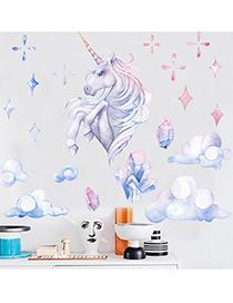 Fashion 30*60cm Unicorn Cloud Wall Sticker