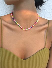 Collar De Perlas De Imitación De Cerámica Suave