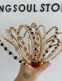 Fashion Rhinestone Color Alloy Rhinestone Pearl Headband