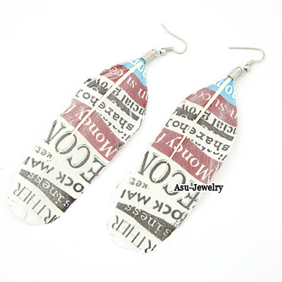 Fashion Black Pure Color Decorated Earrings