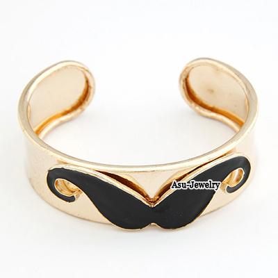 Fashion Black Waterdrop Shape Decorated Bracelet