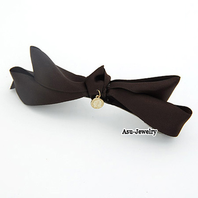 Fashion Black Triangle Shape Decorated Hair Claw