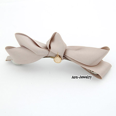 Elegant Gold Color Pure Color Decorated Branches Shape Design Hair Clip