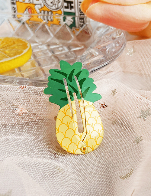 Fashion Pineapple Pineapple Strawberry Watermelon Avocado Fruit Hairpin:Asujewelry.com