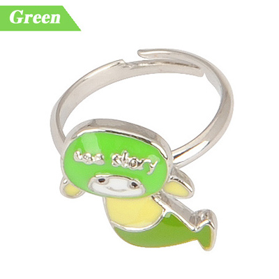 Fashion Silver Color Stone Decorated Simple Design  Alloy Fashion Rings