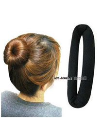 hot Navy Blue Dot Pattern Decorated Bowkot Design Fabric Hair band hair hoop
