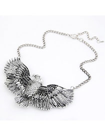 Designs Antique Silver Vintage Tiercel Alloy Korean Necklaces