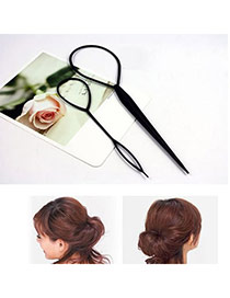 Hydraulic Black Pull Hair Plastic Hair band hair hoop