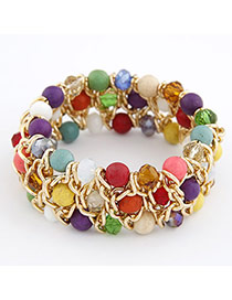 Online Multicolour Turquoise Alloy Fashion Bangles