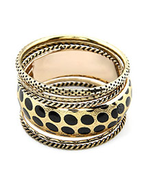 Wonderful Leopard Multilayer Alloy Fashion Bangles