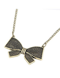 Bodybuildi Bronze Bow Tie Pendant