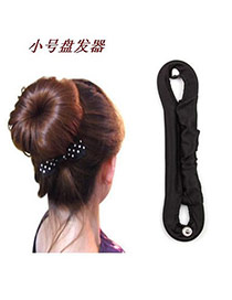 Uniqe Black Button Cotton Hair band hair hoop