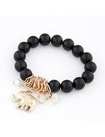 Cool Black Elephant Pendant