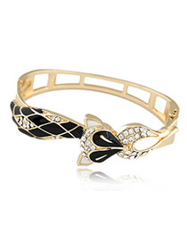 Hippie Black Fox Alloy Fashion Bangles