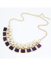 Caterpilla Purple Color Matching Pendant