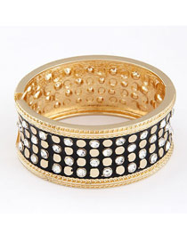 Tribal Black Luxury Elegant Simple Alloy Fashion Bangles