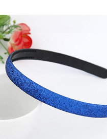Cubic Dark Blue Blink Abrazine Design Plastic Hair band hair hoop